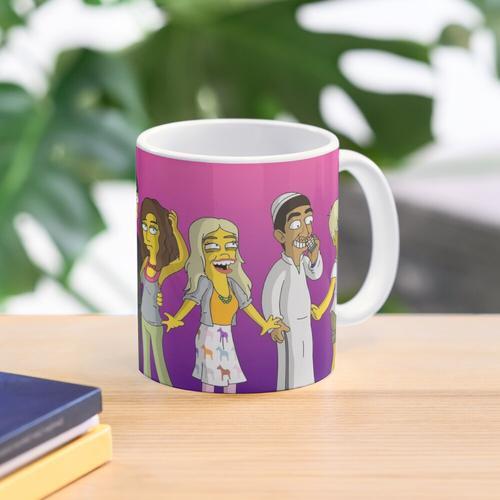 Skins - Simpsons Style! Tasse