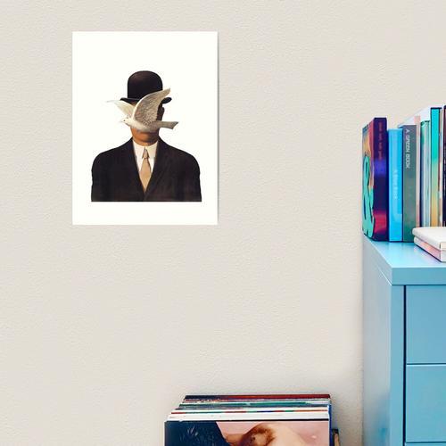 Rene Magritte Mania Kunstdruck