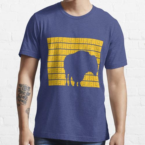 Büffel Büffel Büffel Büffel Büffel Büffel Büffel Büffel. (Gelb) Essential T-Shirt