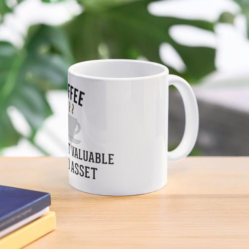 Buchhaltung Kaffee Liquid Assets Tasse