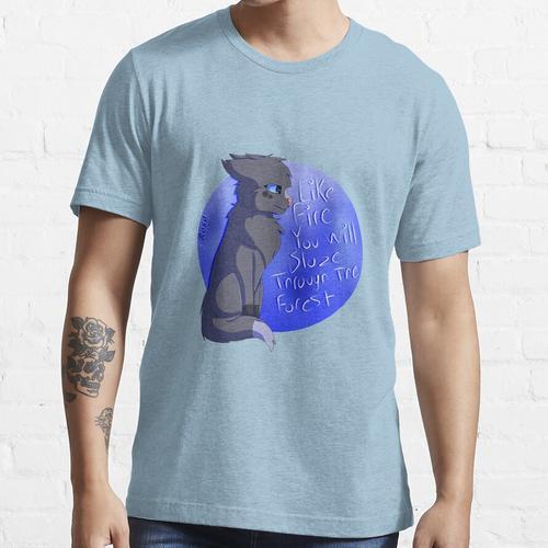 Blaustern, wie Feuer Essential T-Shirt
