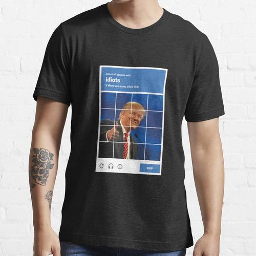 reCAPTCHA - Donald Trump Essential T-Shirt