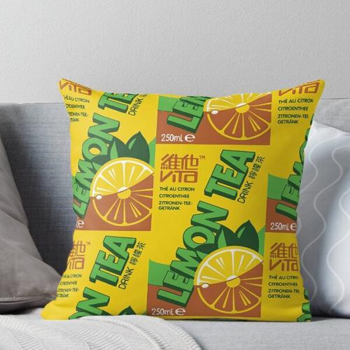 Vita Zitronentee Kissen