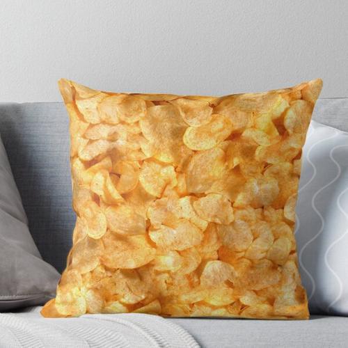 Kartoffelchips Kissen