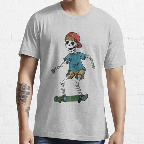Skeleton Schlittschuhläufer Essential T-Shirt