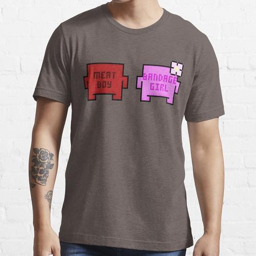 Fleisch Boy und Bandage Girl Essential T-Shirt