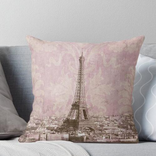 romantisches Paris Kissen