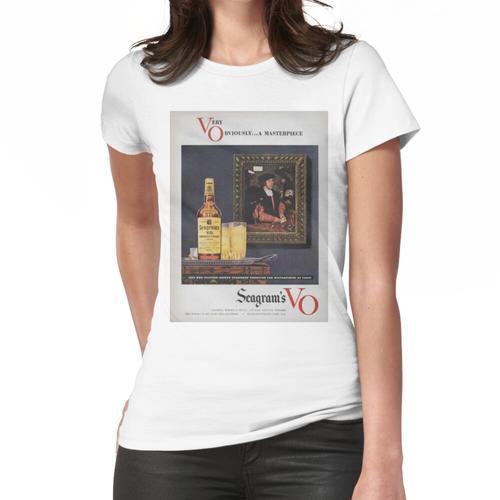 Vintage Seagrams VO Anzeige 1949 Frauen T-Shirt