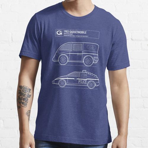 Gadgetmobile Blueprint Essential T-Shirt