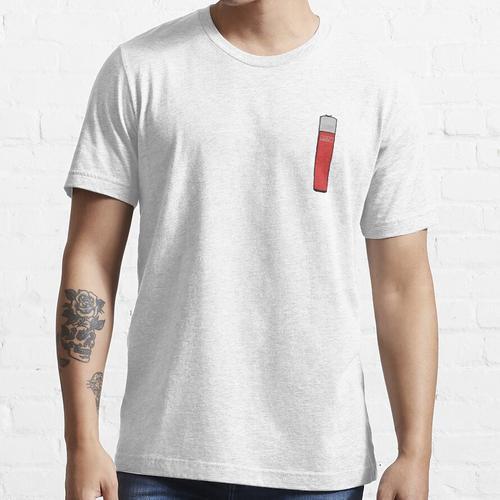 Clipper Feuerzeug Rot Essential T-Shirt
