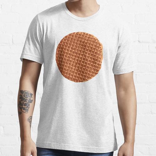 Holländische Waffel, Sirup Waffel oder de stroopwafel Essential T-Shirt