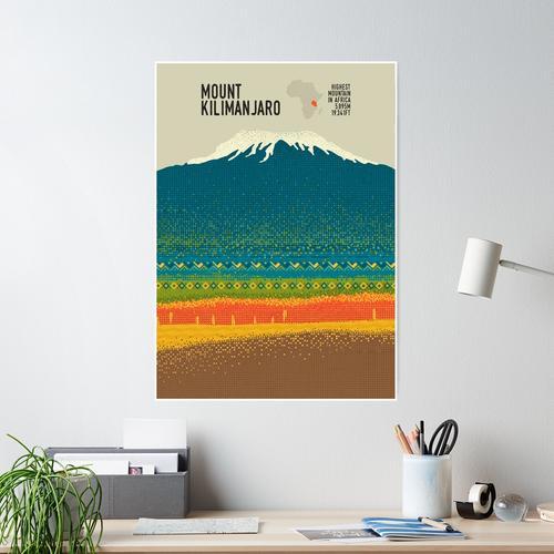 Der Kilimanjaro Poster