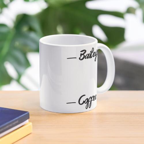 Baileys und Kaffee Tasse