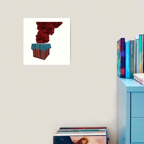 PUBG - Kistenflamme Kunstdruck