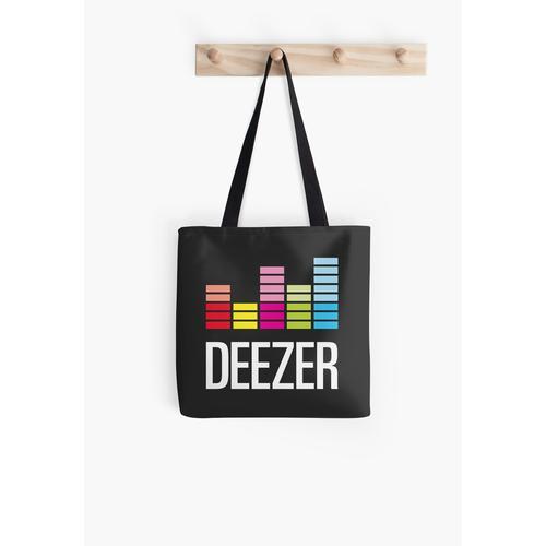 Deezer Logo Tasche