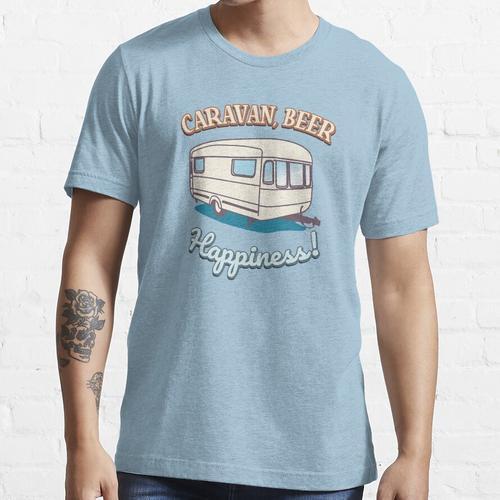 Wohnwagen, Bierglück! Essential T-Shirt