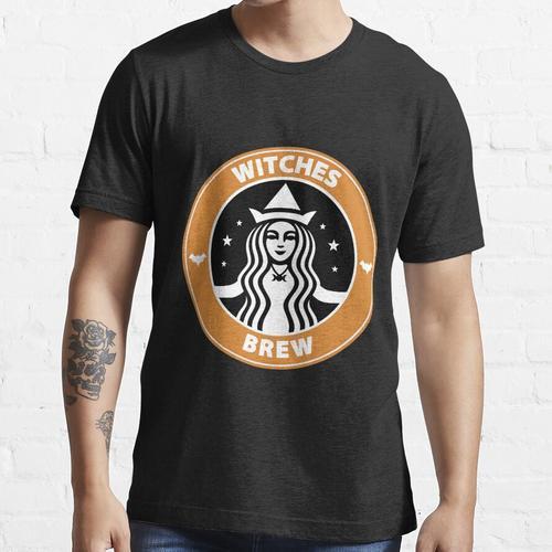 Hexen gebraut Kaffee Essential T-Shirt