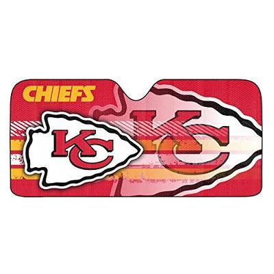 NFL Kansas City Chiefs Universal Auto Shade, Red