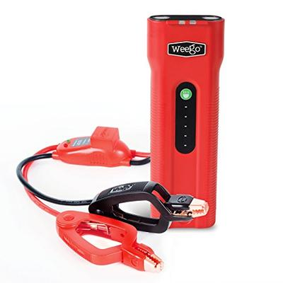WEEGO 66 Jump Starter (2018 Model) 2500 Peak 600 Cranking Amps High Performance Lithium Ion Power Pa