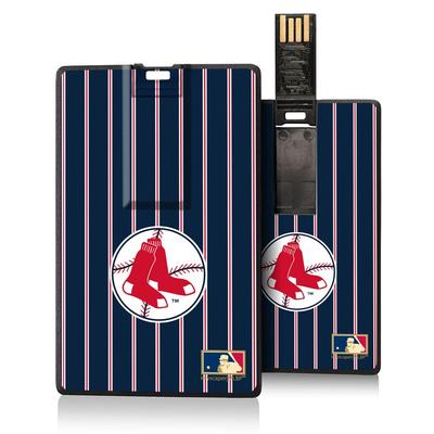 Boston Red Sox 1970-1975 Cooperstown Pinstripe Credit Card USB Drive