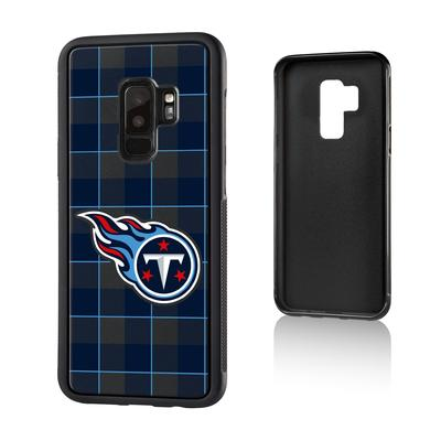 Tennessee Titans Galaxy Plaid Design Bump Case