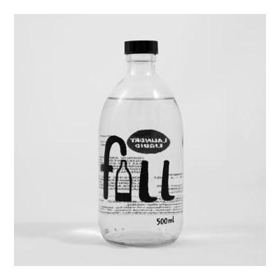 Fill - Unscented Laundry Liquid 500 Ml Glass Bottle