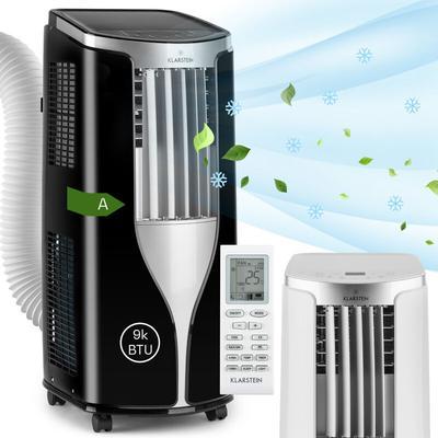 Klarstein New Breeze 9 Climatiseur mobile 9000 BTU Classe énergétique A télécommande noir
