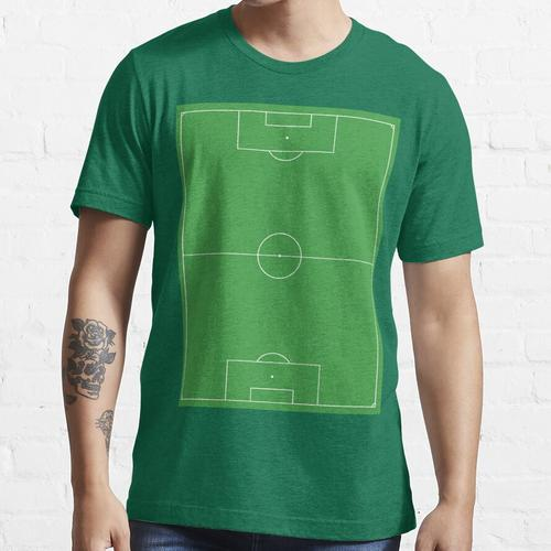 Fußballplatz, Fußballplatz, Fußballplatz, Fußballplatz, Fußball, Fußball, PORTRAIT Essential T-Shirt