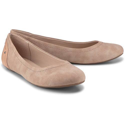Esprit, Aloa Ballerina in rosa, Ballerinas für Damen Gr. 42