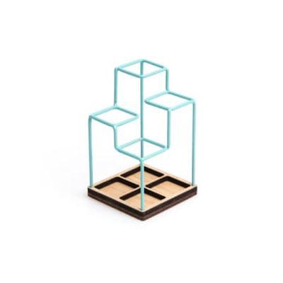 Block Design - Desk Tidy - Grey ...