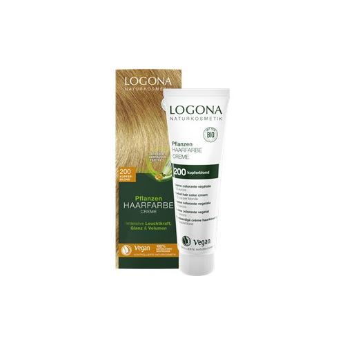 Logona Haarpflege Haarfarbe Pflanzen Haarfarbe Creme Nr. 220 Weinrot 150 ml
