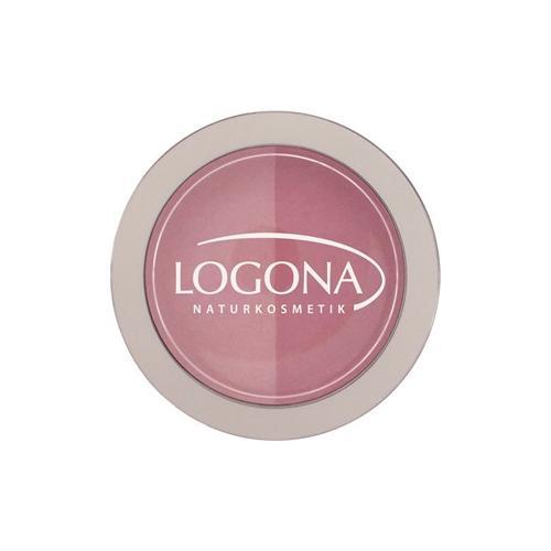 Logona Make-up Teint Rouge Duo Blush Nr. 01 Rose & Pink 10 g