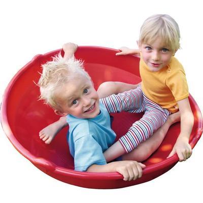 Kullerkreisel, rot
