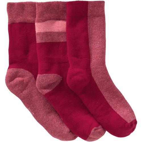 Frottee-Socken, rot, Gr. 19/22