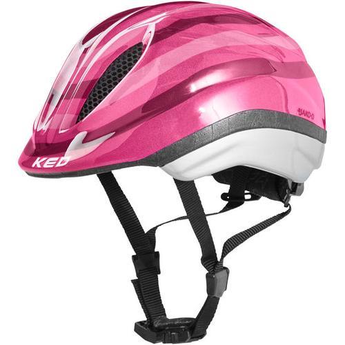 JAKO-O KED Fahrradhelm Streifen, pink, Gr. 46/51