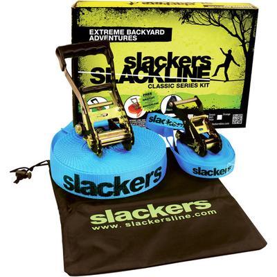 Slackers Slackline mit Halteseil...