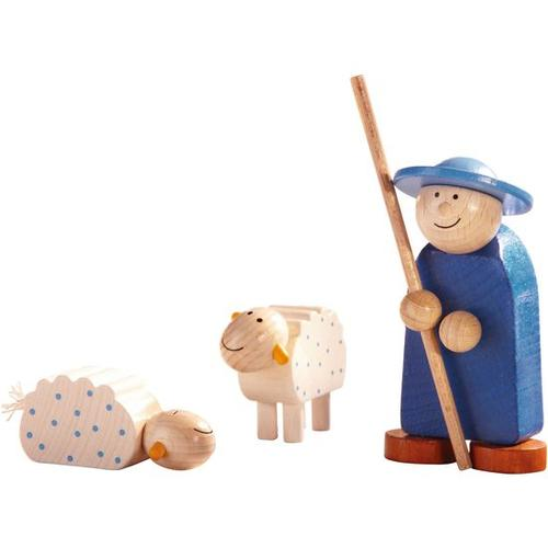 JAKO-O Krippenfiguren Schäfer + 2 Schafe, blau