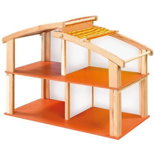 JAKO-O Puppenstube + Dach, rot