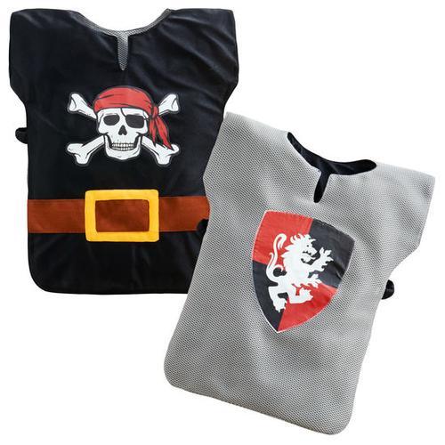 JAKO-O Wendekostüm Ritter/Pirat, grau