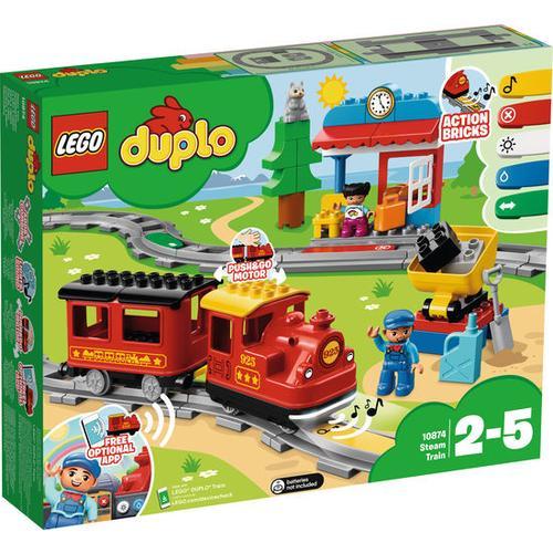 LEGO® DUPLO® Dampfeisenbahn 10874, bunt