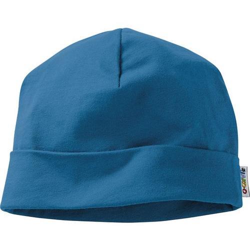 Umschlagmütze, blau, Gr. 46
