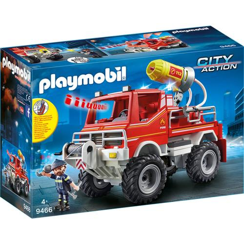 PLAYMOBIL® City Action 9466 Feuerwehr-Truck, rot