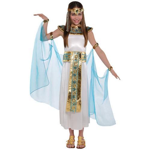 JAKO-O Kostüm Cleopatra, weiß, Gr. 128/146