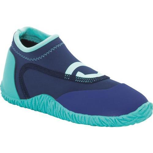 Kinder-Neopren-Schuhe, blau, Gr. 33/34