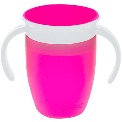 Trinkbecher Miracle mit Griff, 207 ml, pink