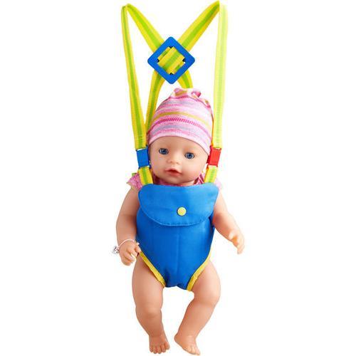 JAKO-O Puppen-Bauchtrage, blau