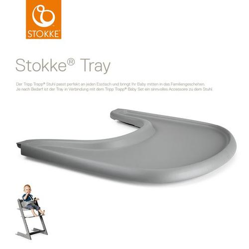 Stokke® Tray Tripp Trapp®, grau