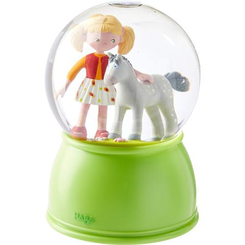 HABA LED-Schlummerlicht-Schneekugel Pferdeglück, bunt