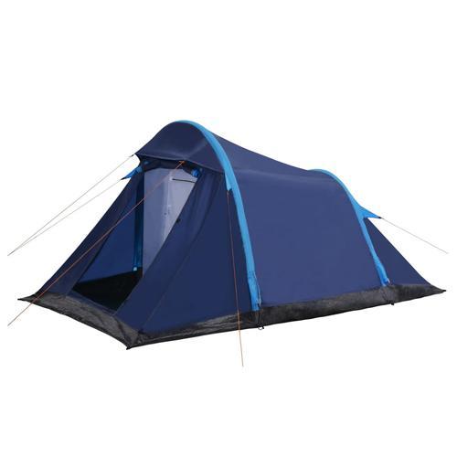 vidaXL Campingzelt mit Aufblasbaren Stangen 320×170×150/110 cm Blau