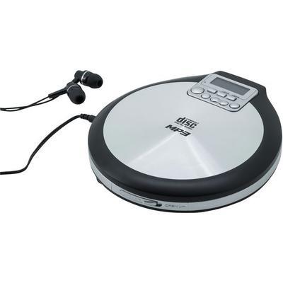 CD/MP3-Player tragbar, silber